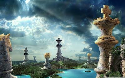 Fantasy Chess Art Wallpaper