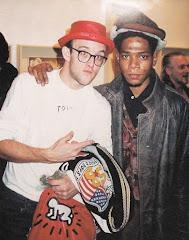 Keith Haring&Jean-Michel Basquiat/SAMO