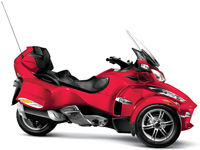 2011-CanAm-Spyder-RTS-Viper-Red