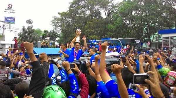 Ribuan Bobotoh Siap Gelar Pesta #PersibJuara Minggu