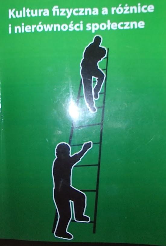 """Okładka najnowszej publikacji SALOS RP """"Kultura fizyczna a różnice i nierówności społeczne"""""""