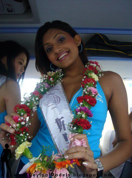 miss sri lanka 2007 Aruni Rajapaksha