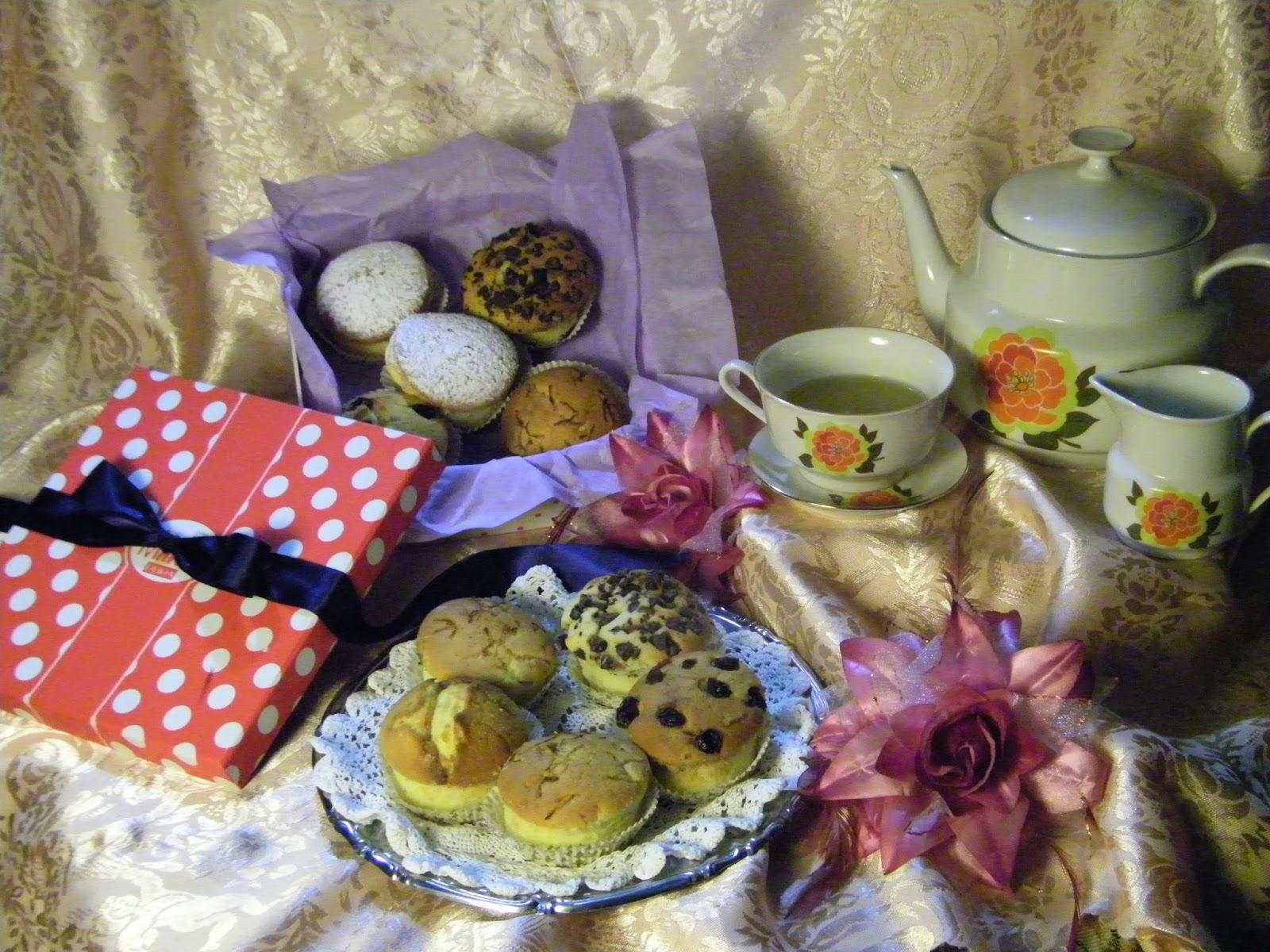 poker di muffin ...4 farciture per tutti i gusti