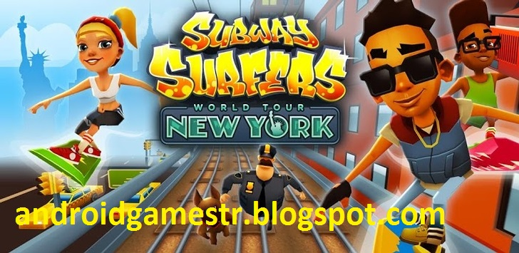 Subway Surfers For Android Adds New York City World Tour 2jpg
