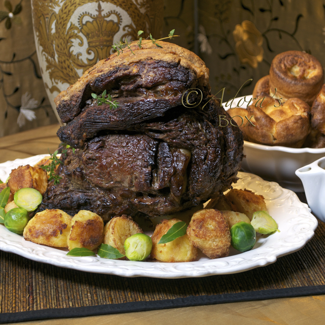 how to make roast beef with yorkshire pudding
