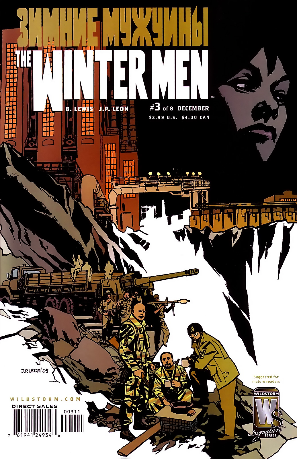 Read online The Winter Men comic -  Issue #3 - 1