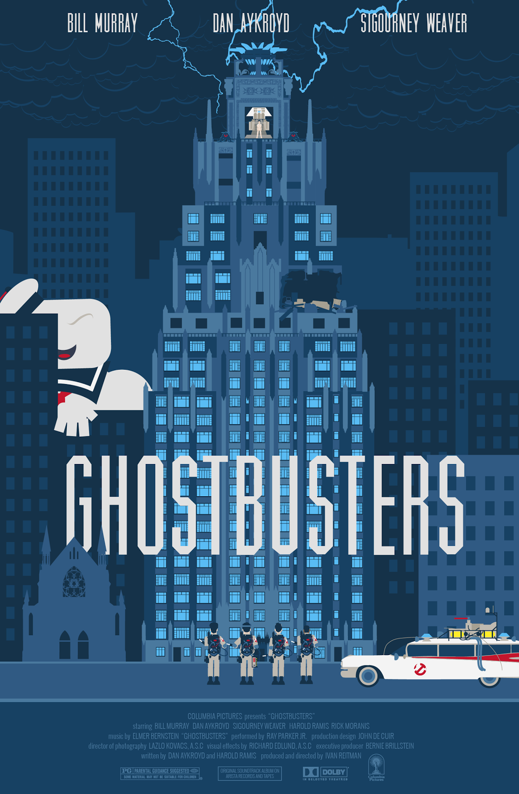 80s Movies - Ghostbusters