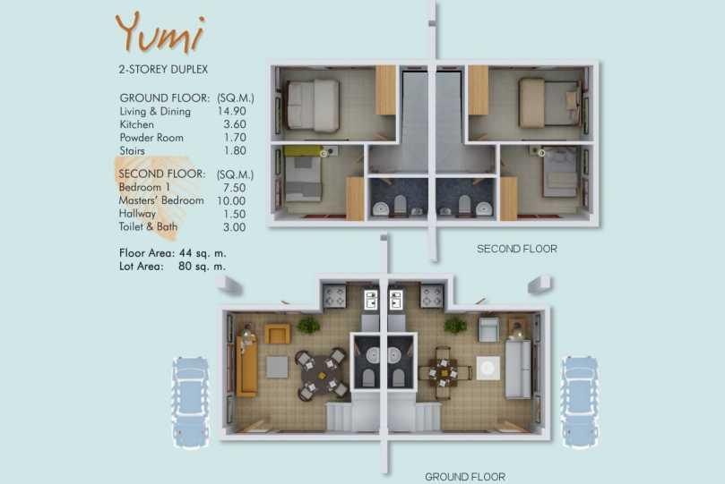 Cebu City Real Estate 2 Storey Duplex House For Sale Yumi