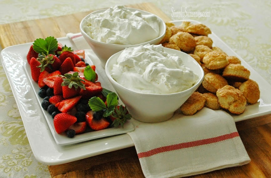 Strawberry Shortcake Platter