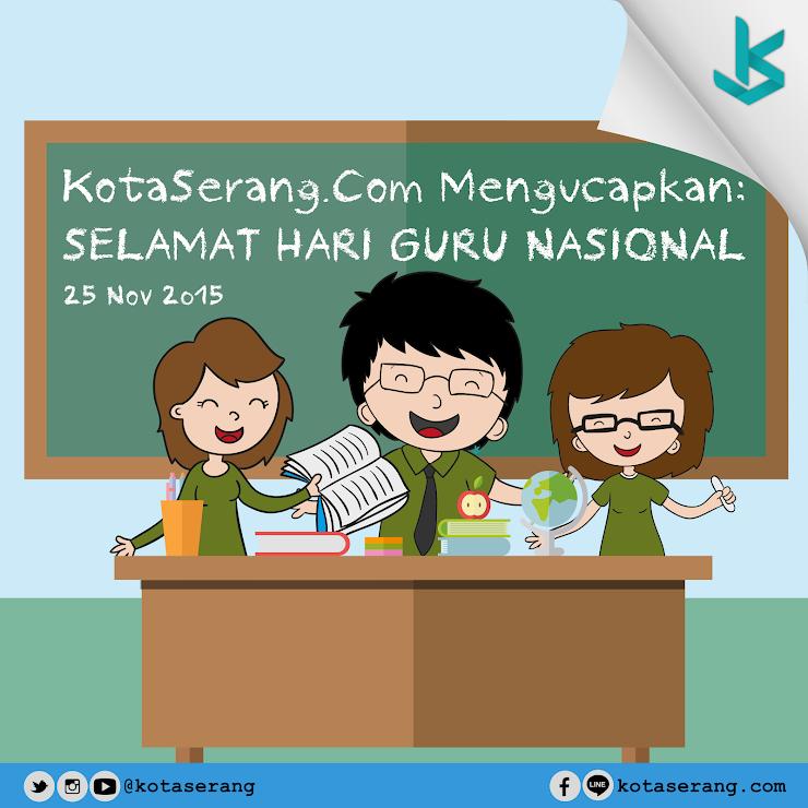 Gambar Vector - Hari Guru Nasional 25 November 2015