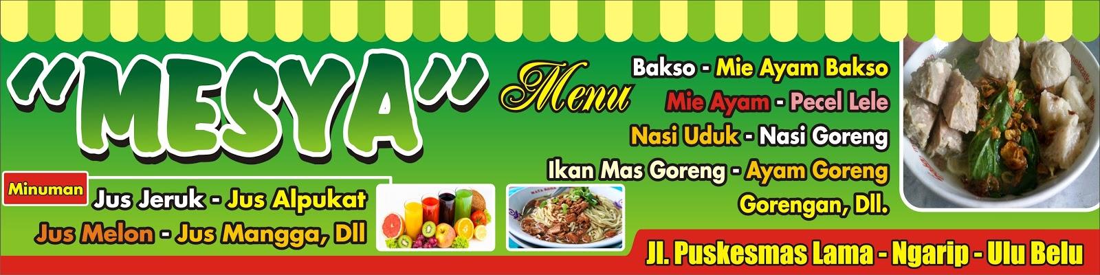 Gambar Desain Banner Warung Makan Sapawarga