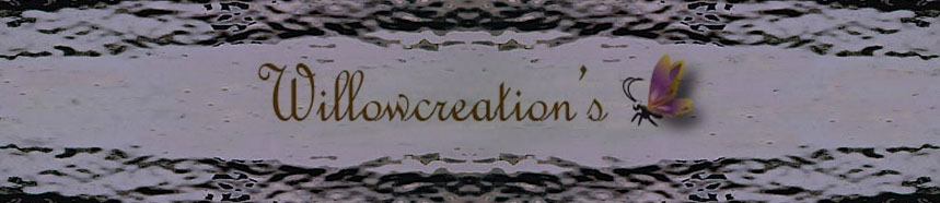 Willowcreations BlogSpot