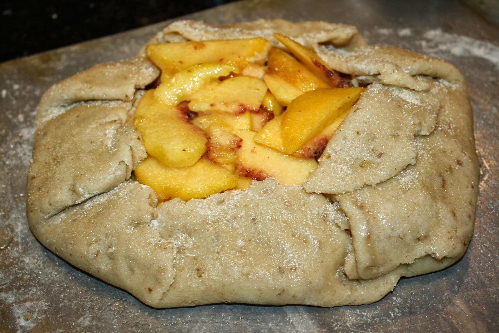 crostata is an italian free form open fruit tart shape it any way ...