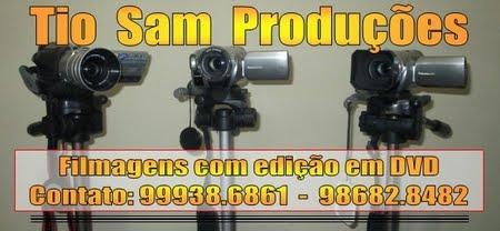 TIO SAM PRODUÇÕES - FILMAGENS