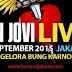 "Jadwal Siaran ""Indosiar TV"" Konser Bon Jovi Live In Jakarta (Sabtu, 12 September 2015)"