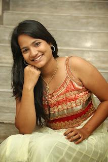 Mehanthini in Beautiful Sleeveless Salar Suit Beautiful Babe