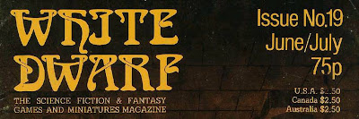 Logotipo de la White Dwarf original