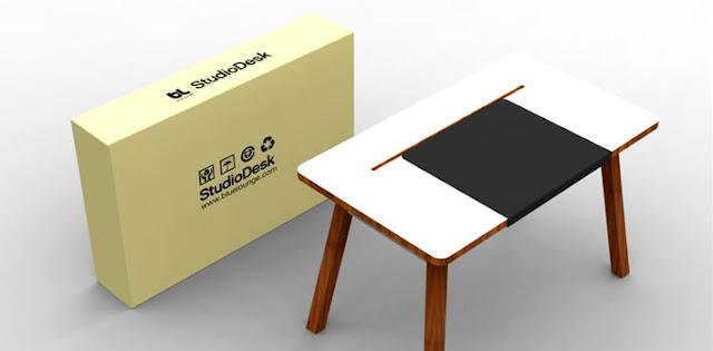 Комп'ютерний стіл StudioDesk з упаковкою
