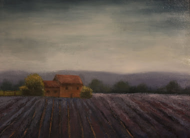 Lavender Field 12x16