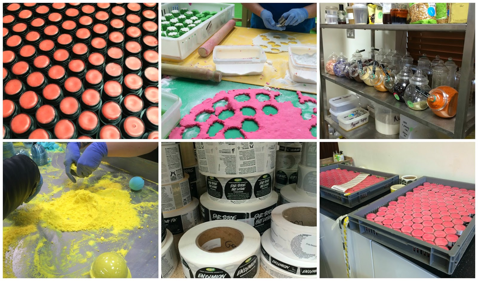 Behind the Scenes with Lush Cosmetics