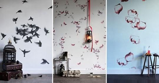 Valentina bianco architetto la creativit al primo posto il wall design - Decorazioni murali camera da letto ...
