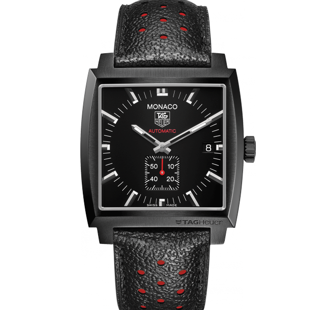 TAG HEUER MONACO FULL CARBON 37 MM