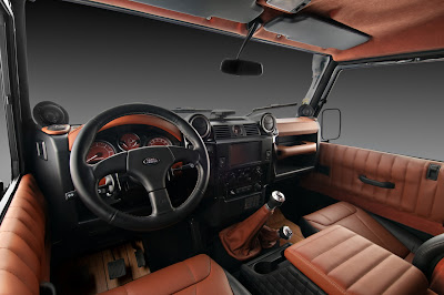 car leather coating - landrover