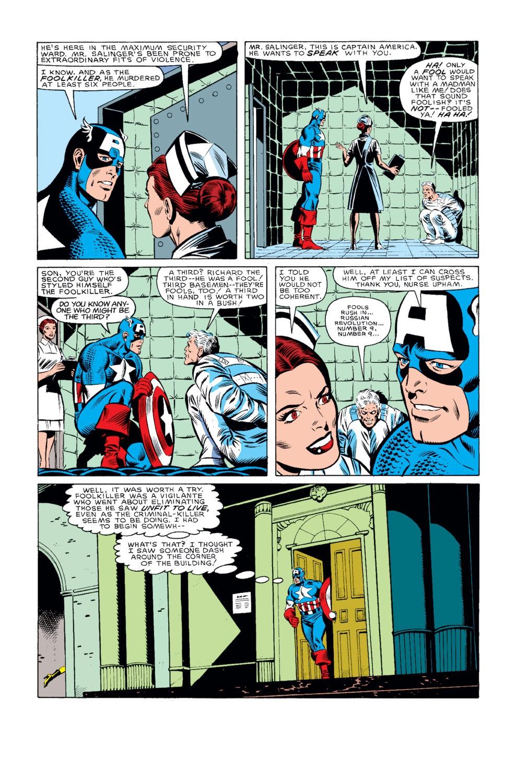 Captain America (1968) Issue #319 #247 - English 11