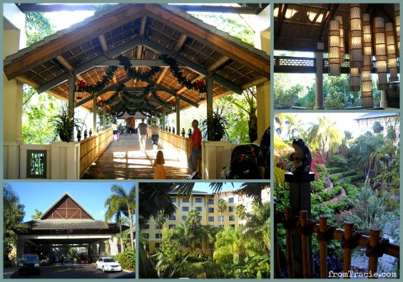Loews Royal Pacific Resort Entrance