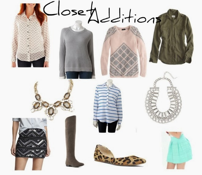 Closet Additions- A.K.A. I have a shopping problem…