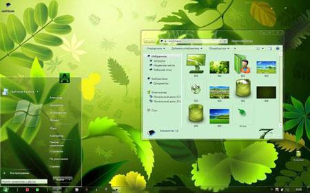 Download Win7Charm Tema para o Windows 7