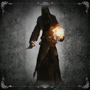 Shadow of Yharnam (Mace & Fireball)