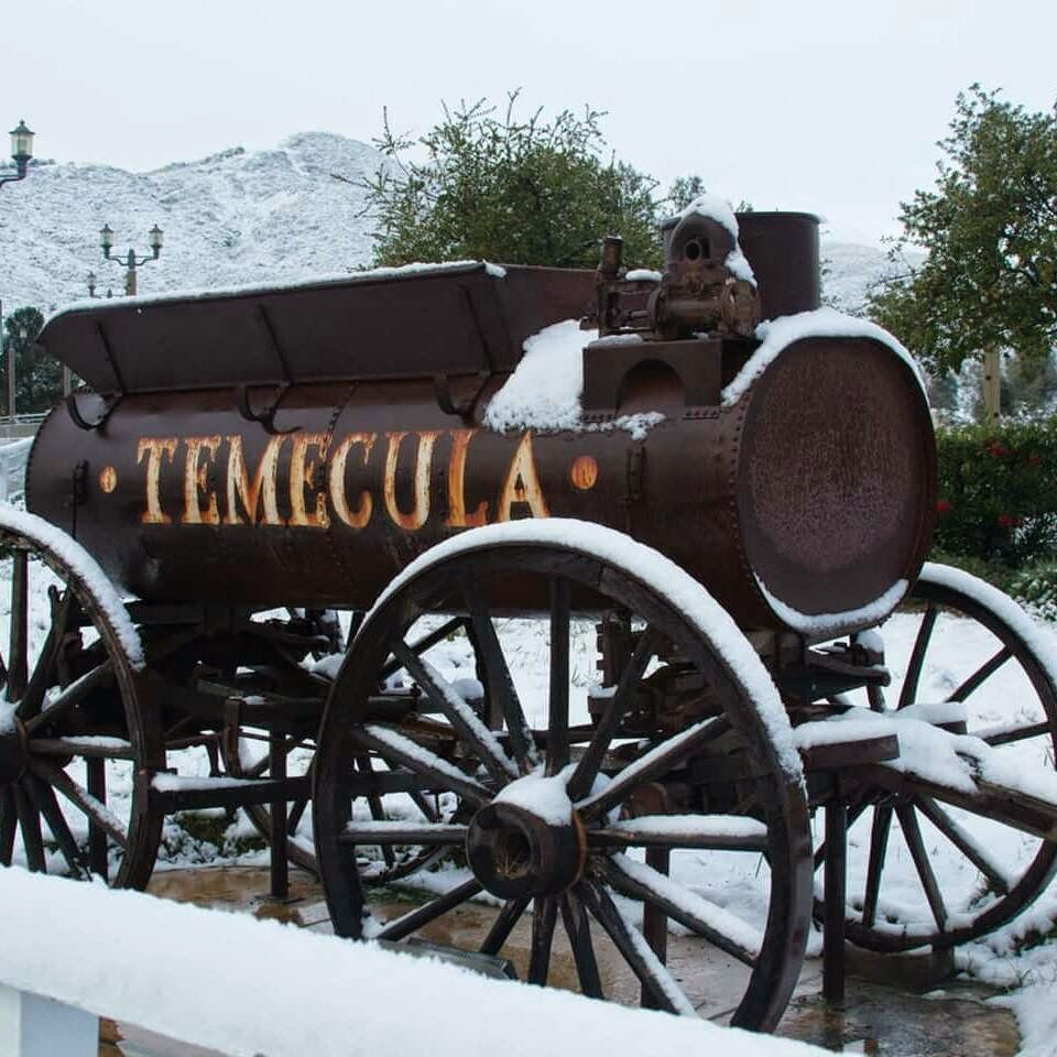 Temecula%2BDecember%2B2014%2BOld%2BTown%2BSnow Weight Loss Recipes Happy New Year from Snowy Temecula!