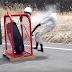 Veja o que acontece quando você enche demais o pneu