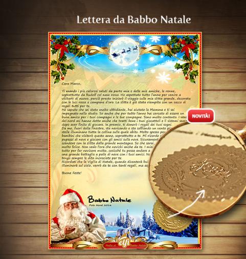 COME SCRIVERE A BABBO NATALE