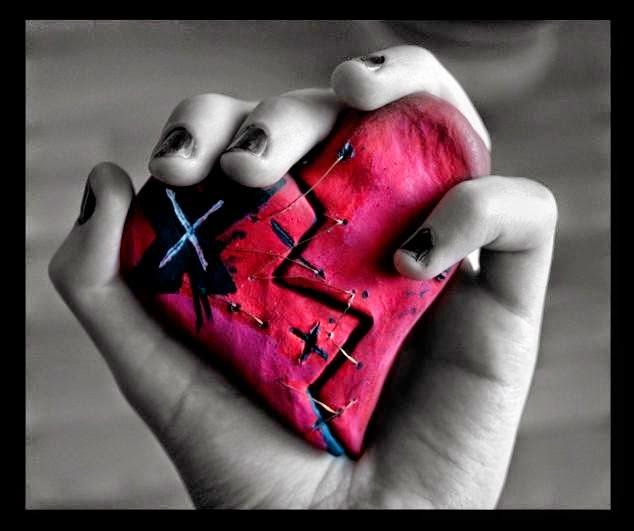 Ảnh Avatar sock độc chất nhất - Trái tim bị tổn thương