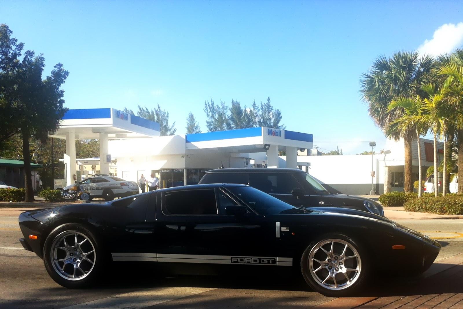 Ford Gt On Key Biscayne