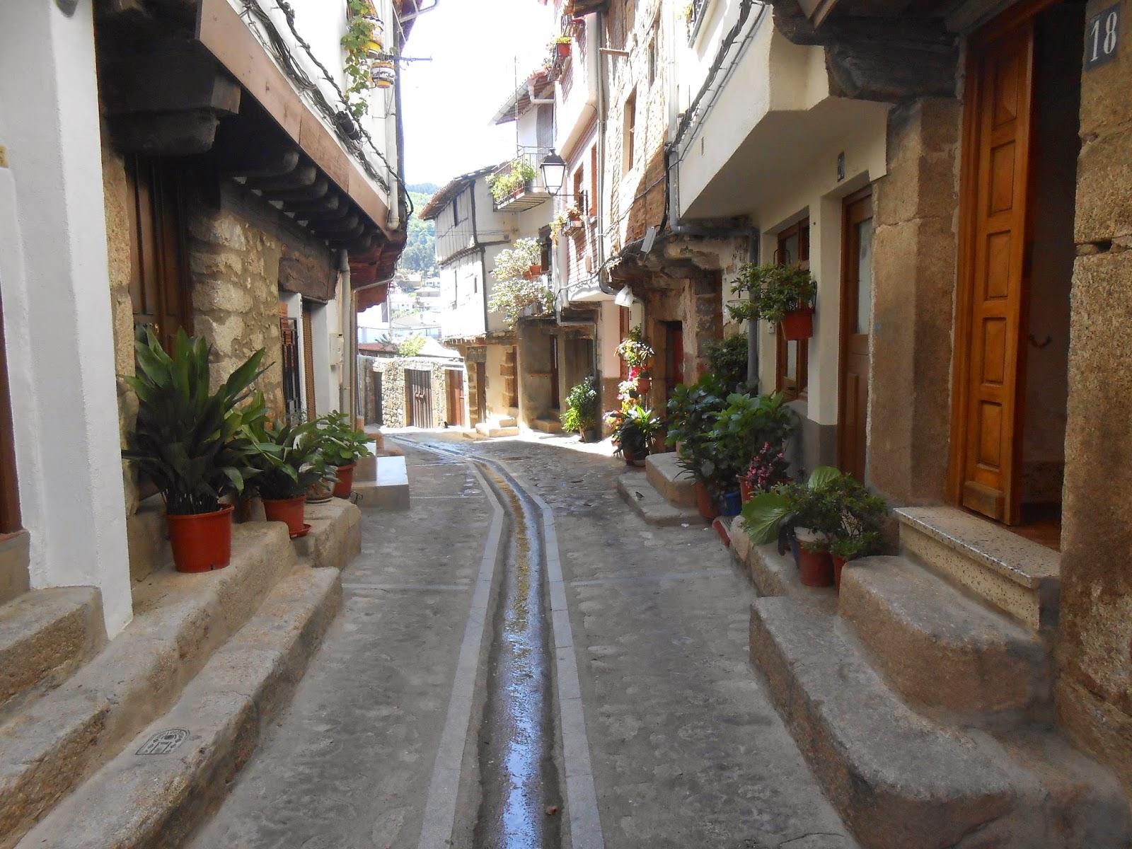 Calles con encanto San Martín de Trevejo