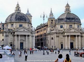 Piazza del Paolo Rome Italy