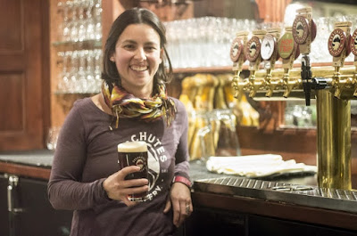 image of Brewmaster Veronica Vega courtesy Deschutes Brewery