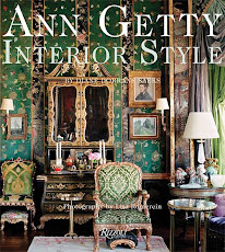 Announcing my book, ANN GETTY INTERIOR STYLE. I'm very excited: Second printing by Rizzoli.