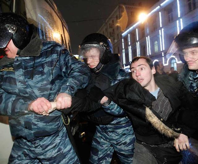 Maior crime do eleitor: não votar em Putin
