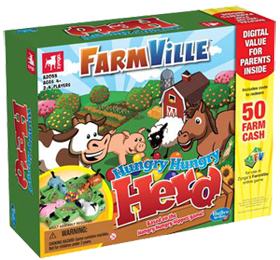 FarmVille Hungry Hungry Herd Game Box