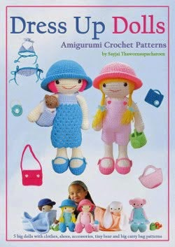 Dress Up Dolls Amigurumi Crochet Patterns on Amazon