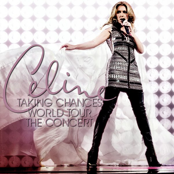 ... Cover's: Celine Dion - Taking Chances Tour (FanMade Album Cover