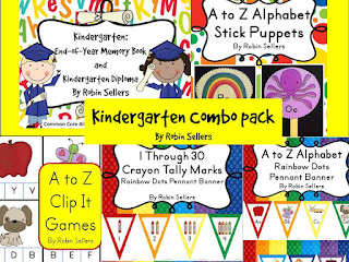 teacher created kindergarten resources