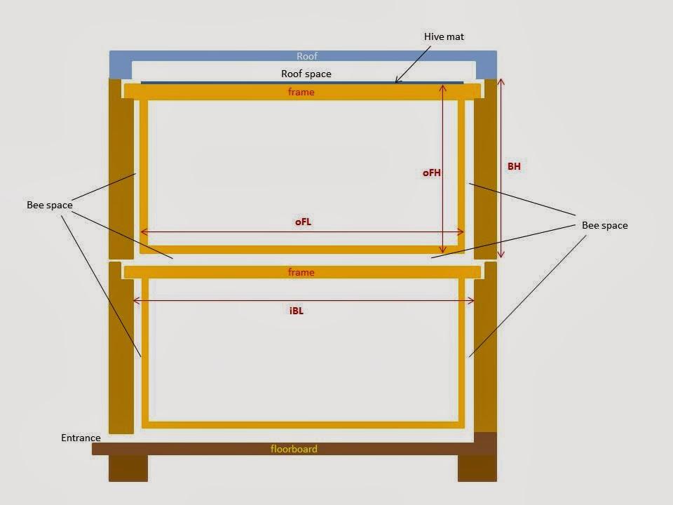 Corona Apicultores: COLMENA LANGSTROTH II