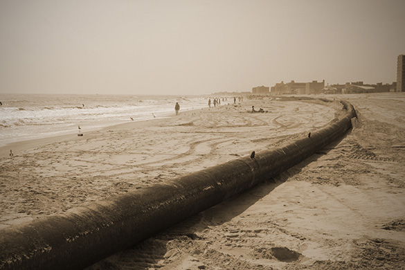 Rockaway Exposed Beach Pipe