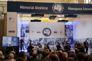 Le Mémorial Alekhine à Saint Pétersbourg © Site Officiel