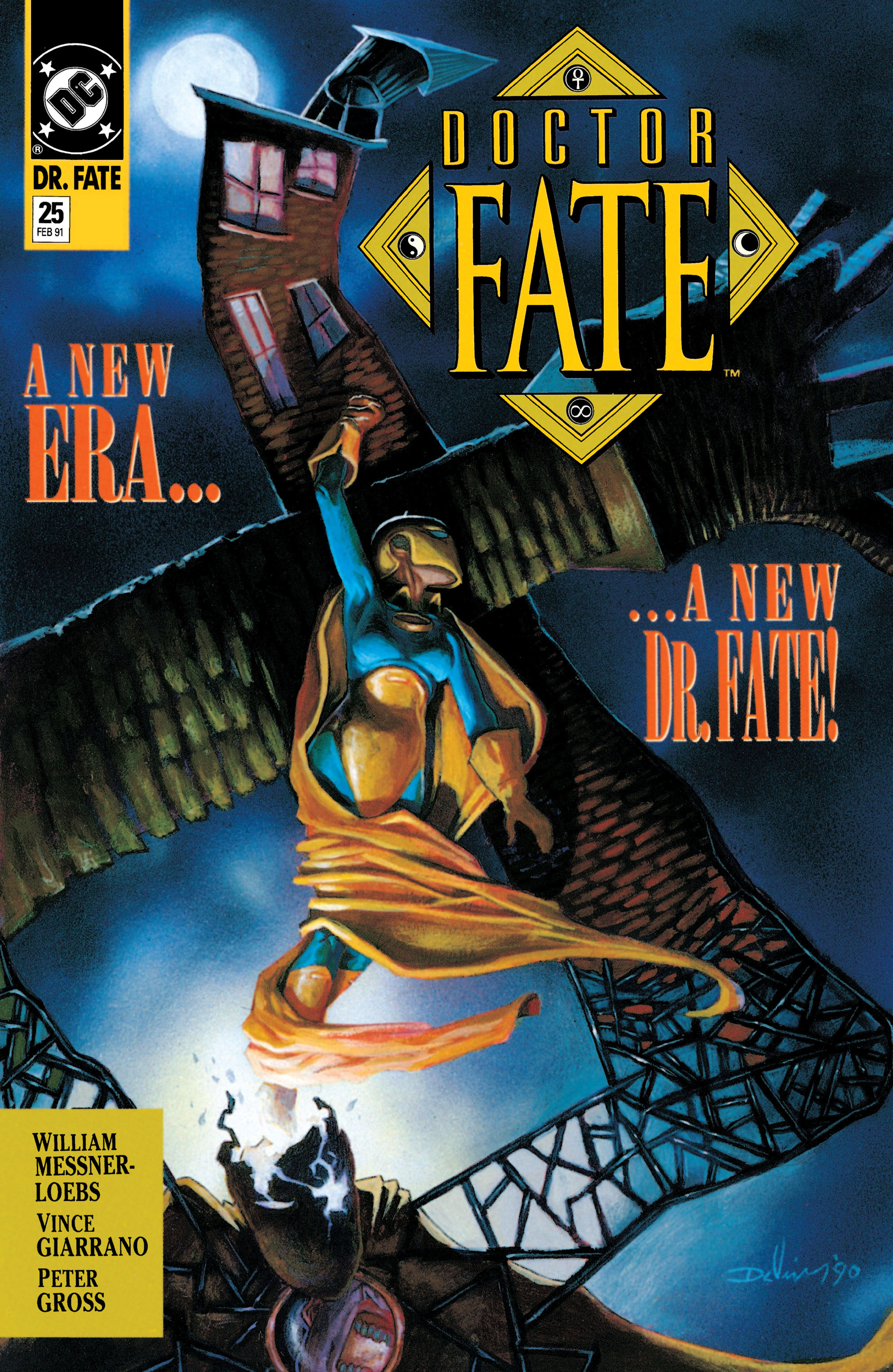 Doctor Fate (1988) 25 Page 1
